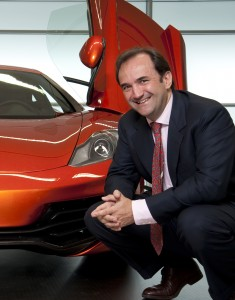 Antony Sheriff joined McLaren just under 10 years ago to head up its automotive division