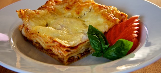 A popular dish. But Findus &#039;beef&#039; lasagnes have been found to contain between 60% and 100% horse meat. Image courtesy of Pierre Wolfer