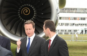 David Cameron, Farnborough 2012