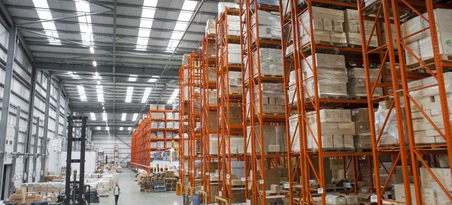 RediRak&#039;s bespoke warehouse solution for Dalepak, Northampton.