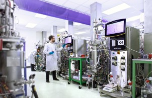 High yield protein production fermentation at Fujifilm's biotech site in Durham can potential reduce the cost of goods
