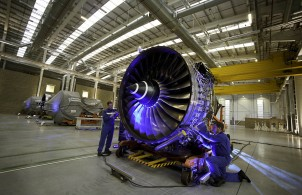 Rolls-Royce's new Heathrow Service Centre