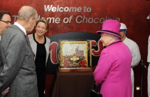 The Queen and His Royal Highness The Duke of Edinburgh visited Mars Chocolate UK, Slough
