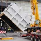 Delivering the Pro-Beam K2000 electron beam welding chamber to the Nuclear Advanced Manufacturing Research Centre