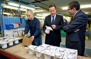Cameron visits Vent-Axia headquarters