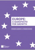 Europe, a manifesto for growth EEF cover