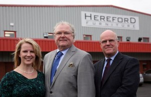 Hereford Furniture with Lord Digby Jones for the new business troubleshooter programme on BBC2