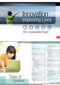 3M Sustainability Report 2014 - Innovation Improving Lives