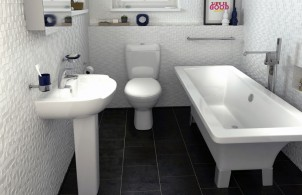 A bathroom from Bathrooms.com
