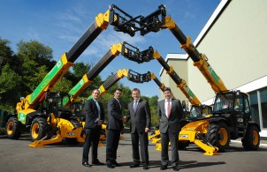 JCB signs  £35m supply contract with A-Plant