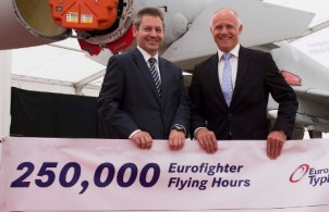 Typhoon milestones announced at Farnborough