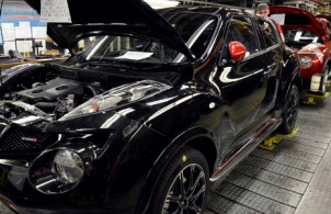Nissan production resumes at Sunderland facility