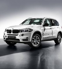 BMW launches its armoured X5 model
