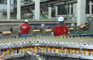 Heineken's Sol production plant in Mexico