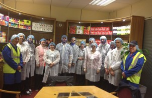 Typhoo Factory Tour_Group