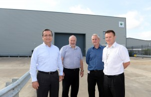 Bosses at the Speedwell site in Hampshire