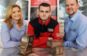 Image left to right: Hannah Coomer (Air Products); Dean MacDonald, (Doosan Babcock); Kevin Sherry (Air Products)