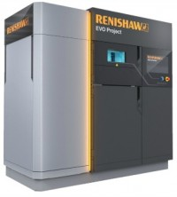 Renishaw's EVO Project machine is being developed for industrial additive manufacturing.