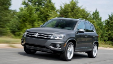 The 2015 Volkswagen Tiguan which is to be made at the company's Mexican plant - image courtesy of Volkswagen.