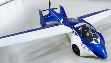 AeroMobil is a flying car that makes use of existing infrastructure created for automobiles and planes, and opens doors to real door-to-door travel - image courtesy of Aeromobil