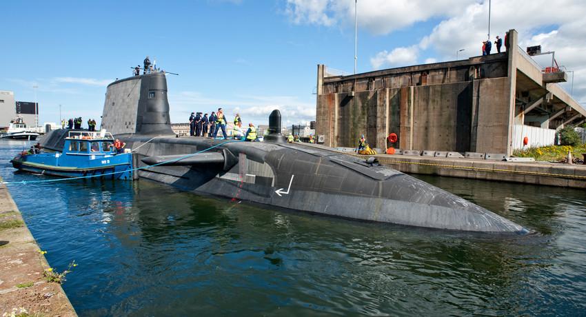 New Bae Systems Submarine Sets Sail From Barrow