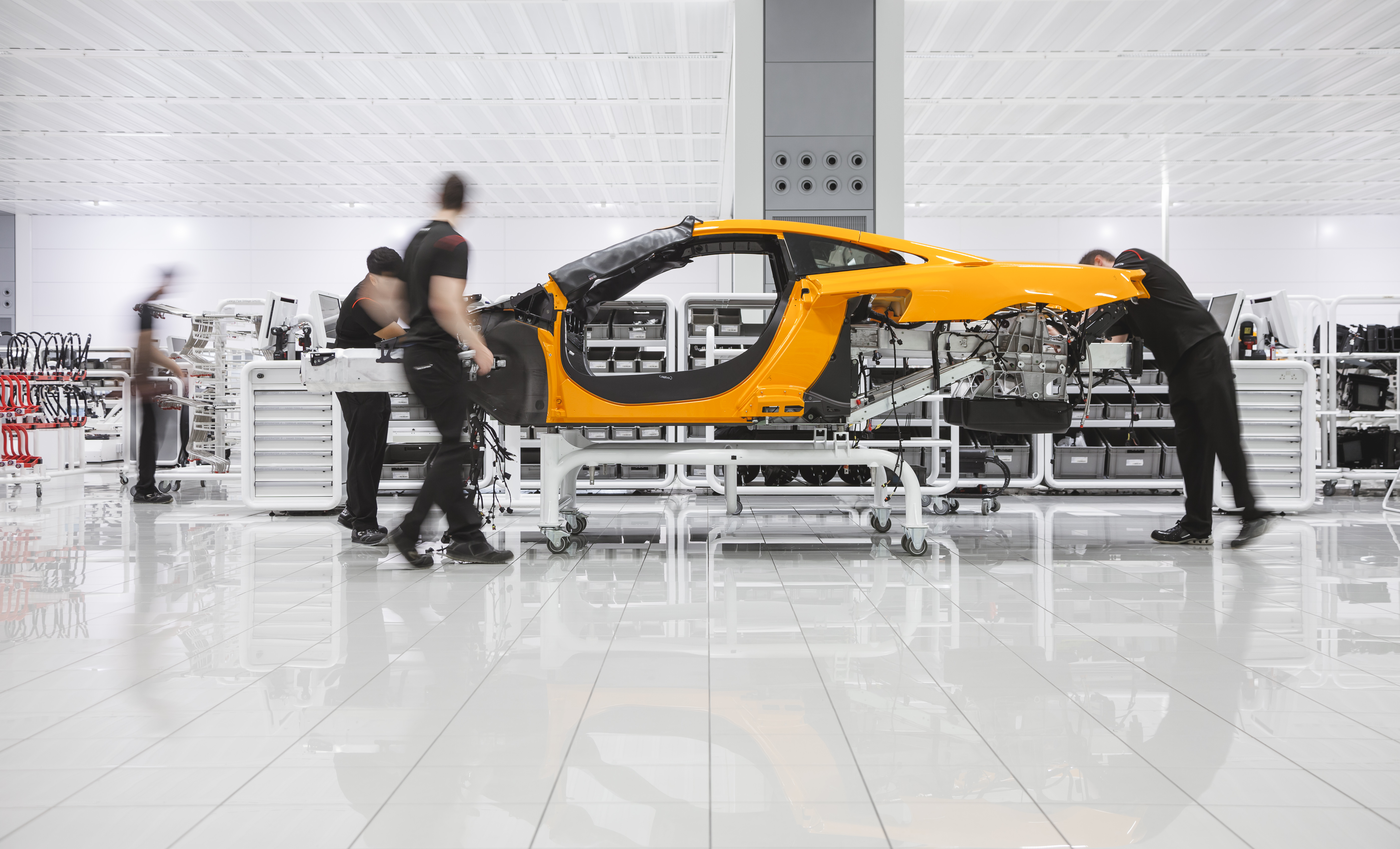 McLaren Automotive - Factory