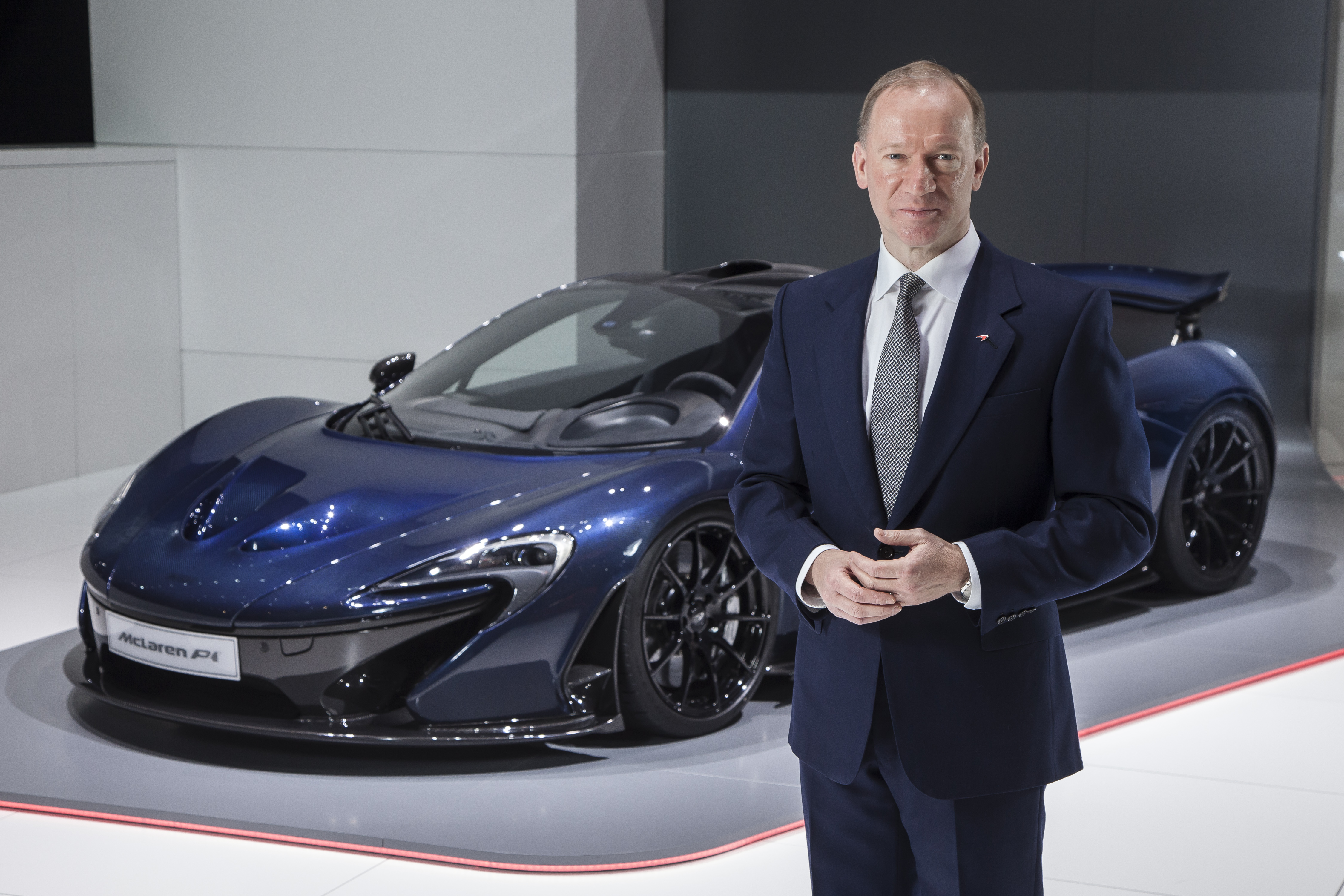 McLaren Automotive CEO, Mike Flewitt.