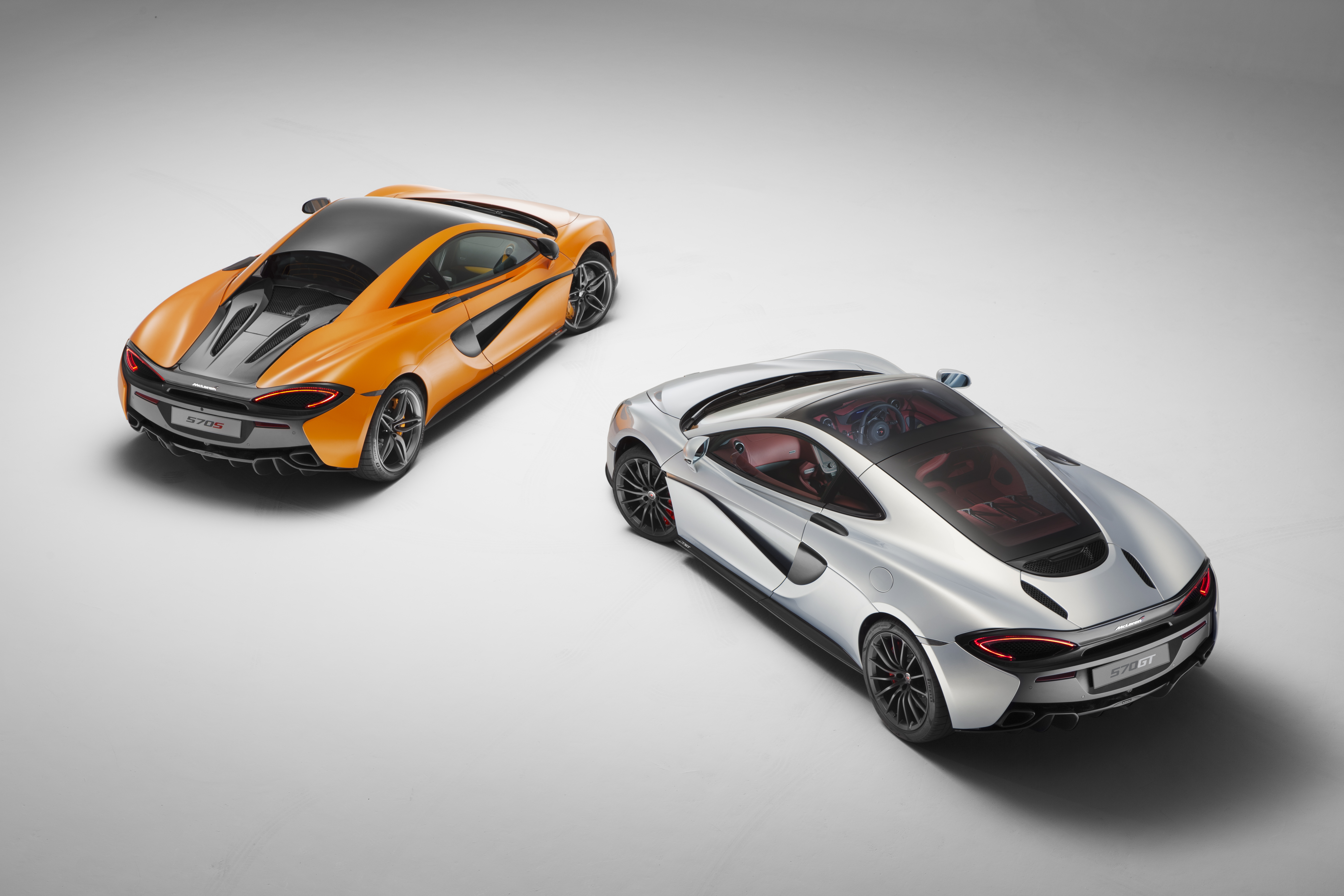 McLaren 570 and 570GT make up the new Sports Series models