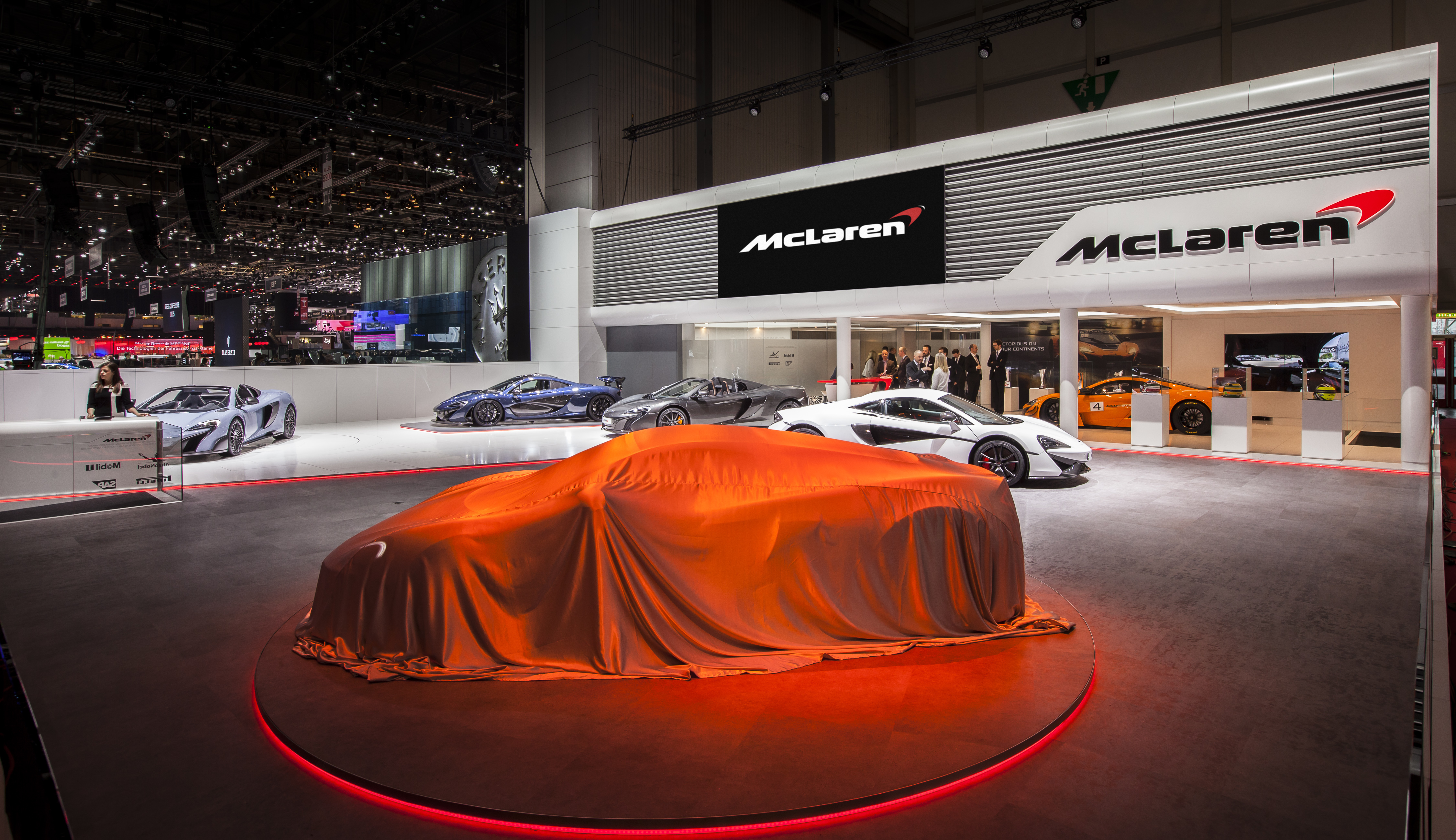 McLaren debuted its latest model, the 570GT at the Geneva Motorshow this week.