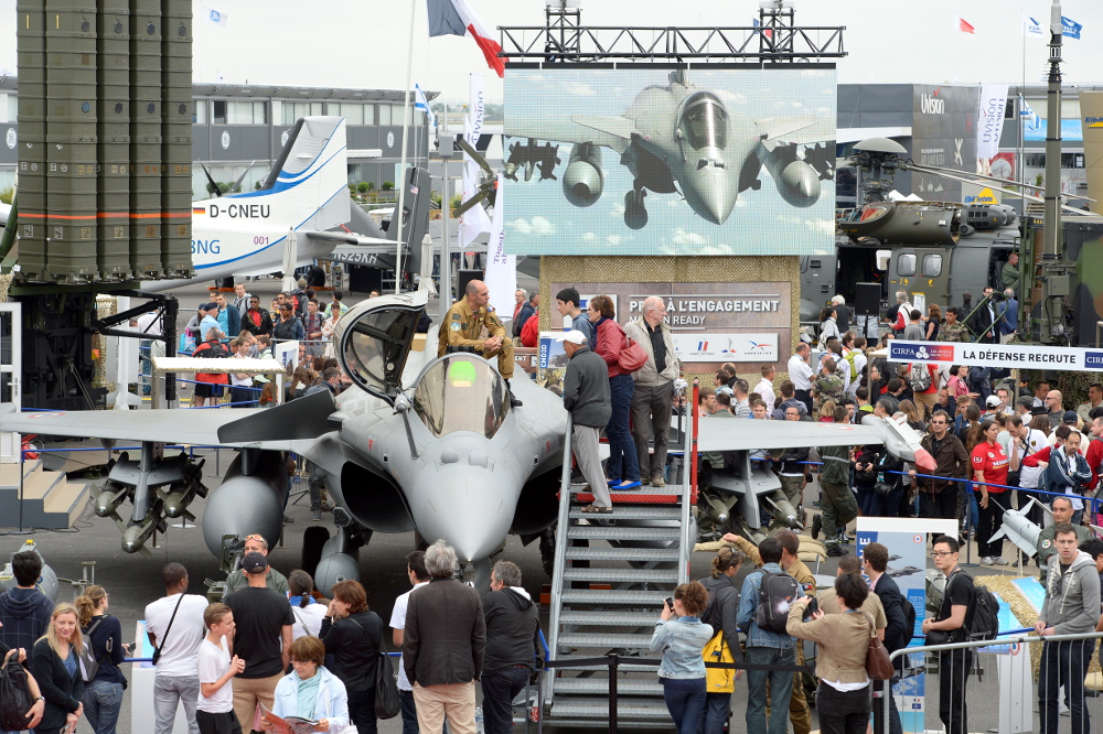 The Paris Air Show 2015 Public days.