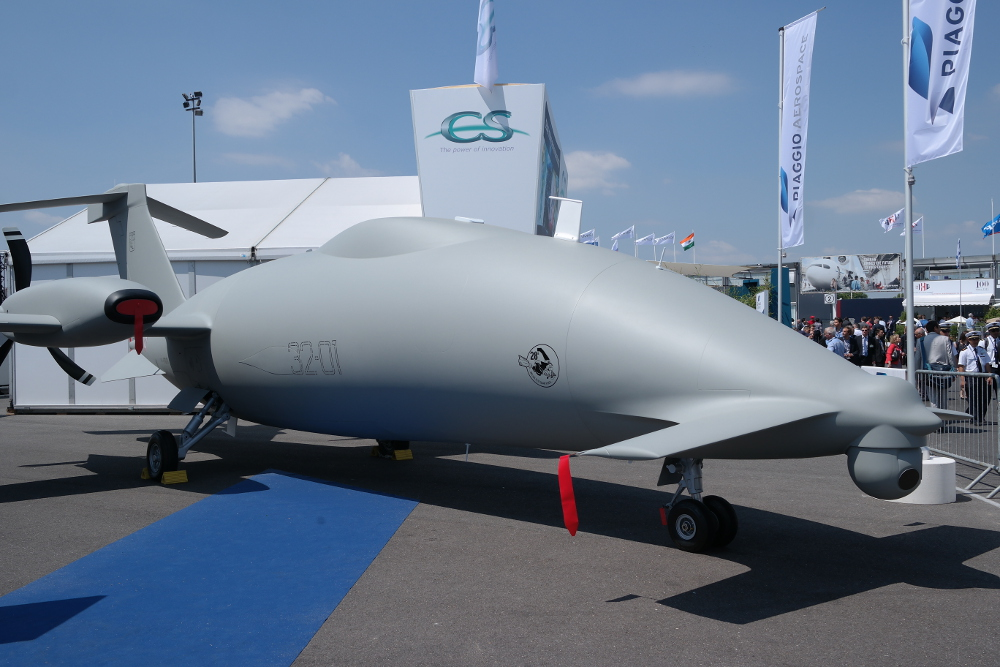 The Piaggo Aerospace Hammerhead at Paris Air Show 2015