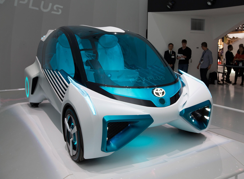 2. Toyota FCV Plus