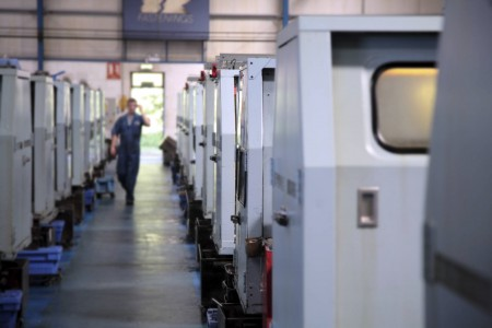 The factory in Uckfield has 41 multi spindle machines for manufacturing fasteners