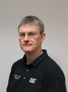 Simon Collins, EAME Future Talent Development Manager, Caterpillar