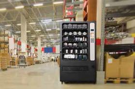 Apex vending machine in factory
