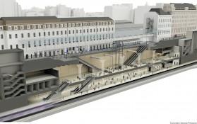 BIM image of Paddington Station