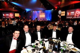 At The Manufacturer of the Year Awards 2013