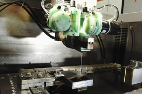One of Brandauer's new GF Agie Charmilles Cut 3000s in action