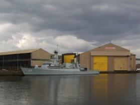 BAE Systems Clyde shipyard