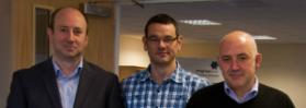 BMS directors (from left)  Tony MacBride, Mark Holme and Martin Brawley.