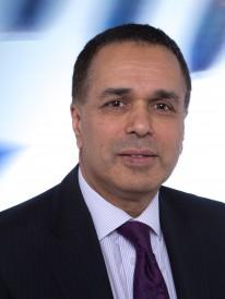 Dr Hamid Mughal, manufacutirng director, Rolls-Royce