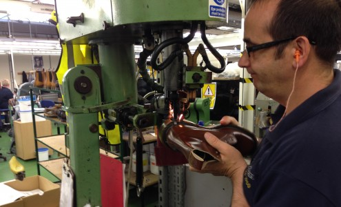 Dr Martens production at Wollaston