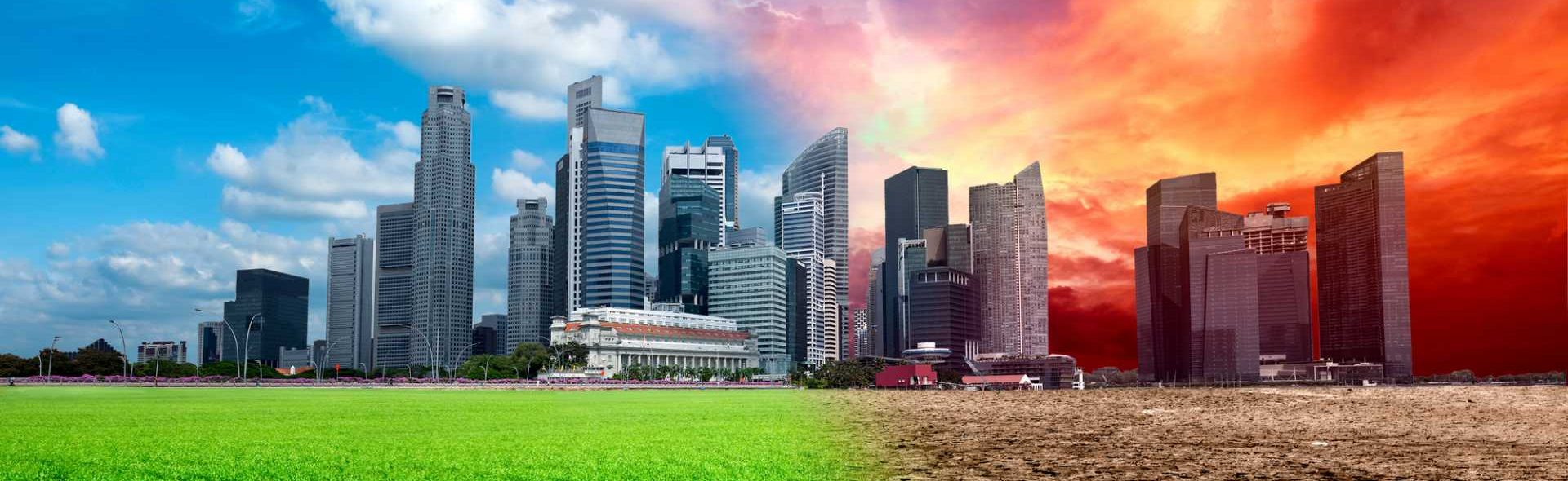 Global warming pollution climate change sustainability - image courtesy of Depositphotos.